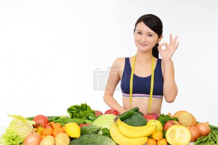 Photo for Successful woman on diet - Royalty Free Image