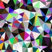 """Постер, картина, фотообои """"Абстрактный фон разноцветных геометрических циклопические."""""""