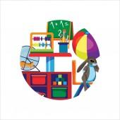 Kindergarten (preschool) classroom