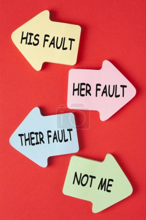 His Her Their and Not Me Fault. Why People Blame O...