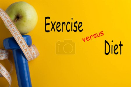 Exercise vs Diet for Weight