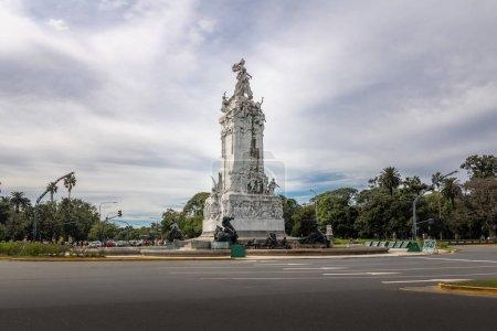Photo pour Monument to the Spaniards (Monumento de los Espanoles) in Palermo - Buenos Aires, Argentina - image libre de droit