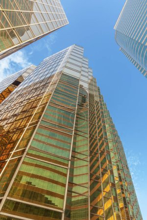 Photo for Exterior of modern high rise office building - Royalty Free Image