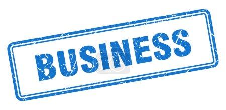 Photo pour Timbre d'affaires. signe grunge carré isolé sur fond blanc - image libre de droit