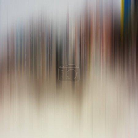 Photo pour Fond abstrait coloré, composition dynamique et associative des couleurs des lignes verticales - image libre de droit