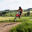 Windsberg, Germany - June 29, 2019 Motocross train...