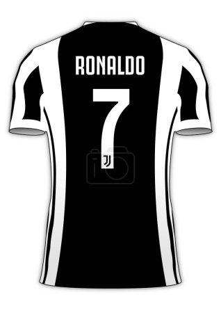 Cristiano Ronaldo Juventus football team