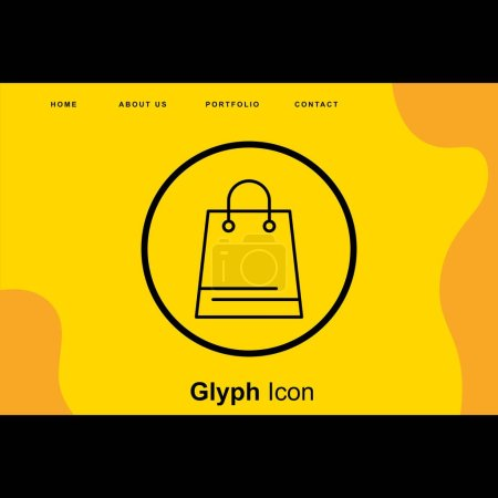 Shopping Bag icon for your project