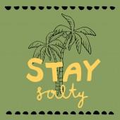 stay salty illustration