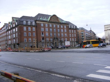 Photo for Historic architecture in copenhagen, denmark - Royalty Free Image