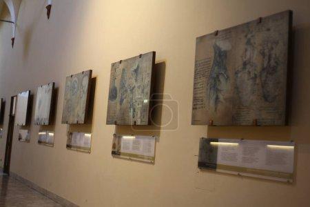 Photo pour Intérieur du bâtiment de la galerie à Milan - image libre de droit