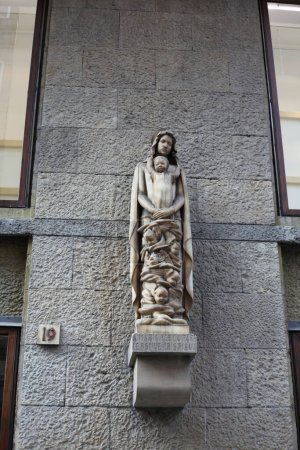Photo for Sculpture on the building of Florence, Italy - Royalty Free Image