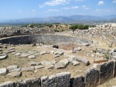 Europe, Greece, Mycenae, the Central part of the settlement, which is the cradle of modern European civilization.