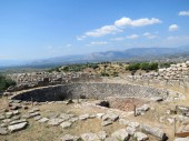 Europe, Greece, Mycenae, ancient stones keep the memoryof hundreds of generations of people