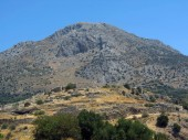 Europe, Greece, Mycenae, view of one of the oldest settlements in Europe, the cradle of modern culture.
