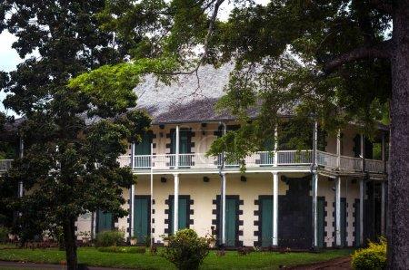 Photo pour Le Chateau De Mon Plaisir, Jardin botanique de Pamplemousses - image libre de droit