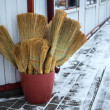 Many brooms are sold...