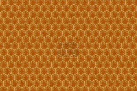 Foto de Primer plano del patrón de miel, fondo de los alimentos - Imagen libre de derechos