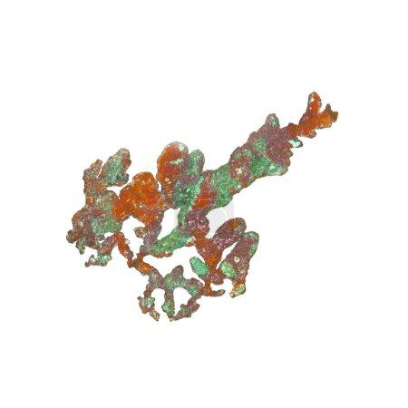 Foto de Primer plano del elemento químico, antecedentes científicos - Imagen libre de derechos