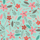 Cute Floral pattern in the small flower