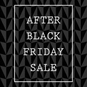 After black friday sale Vector illustration