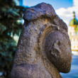 Archaeological sites in the city center of Kharkov...