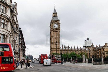 Photo pour Célèbre Londres Big Ben en Angleterre - image libre de droit