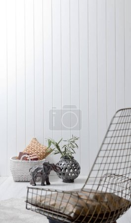Photo for Chair  in living room and interior design - Royalty Free Image