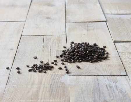 Photo for Coffee bean close up on background - Royalty Free Image