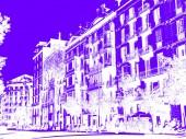 building of the city of Barcelona, in Paseo de Gracia street