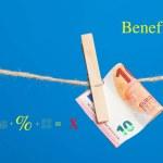 Euro banknotes, money of the European economic com...