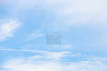 White clouds in blue cloudy sky at daytime