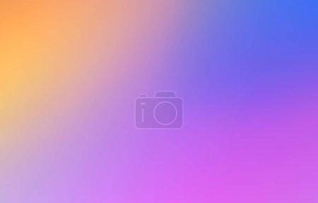 Multicolored Abstract blurred gradient mesh background in bright rainbow colors