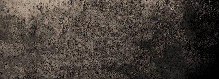 Foto de Fondo Dark grunge. Recubrimiento de polvo y fondo de socorro con rasguños. Papel pintado sucio gris. - Imagen libre de derechos