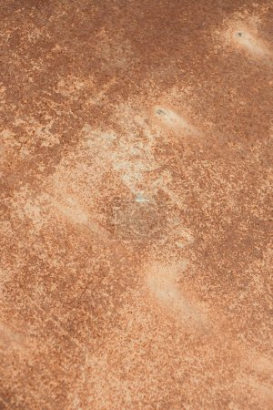 Rust metal textured wall background with scratches