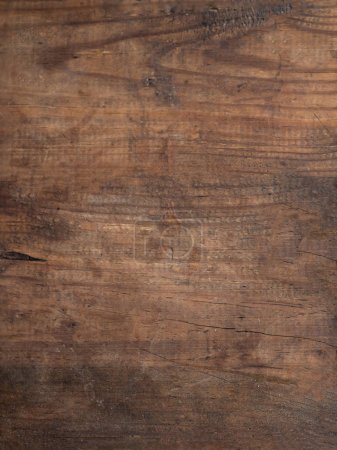 Photo for Old natural wood grunge texture. Vintage wooden floor. - Royalty Free Image