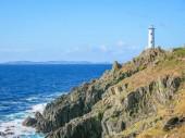 Cabo Home lighthouse near Cangas, Pontevedra, Galicia