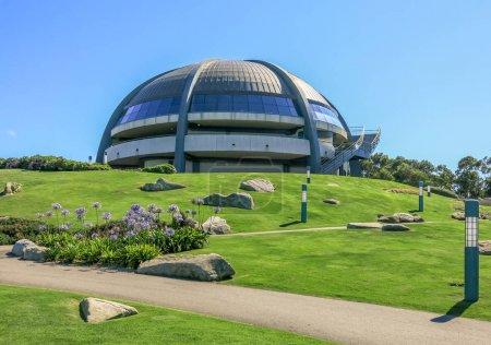 Foto de Observatory in Monte San Pedro Park, La Coruna, Spain - Imagen libre de derechos