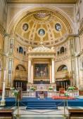 Basilica of Saint Lawrence in Damaso in Rome, Italy. Aprile-07-2018