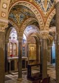 The crypt of Santa Cecilia in Trastevere Church in Rome, Italy. January-20-2018