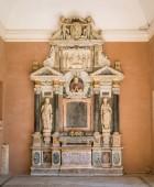 Funerary monument of cardinal Paolo Emilio Sfondrati, Basilica of Santa Cecilia in Trastevere, Rome, Italy. August-11-2018