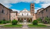 Basilica of Santa Cecilia in Trastevere, Rome, Italy.