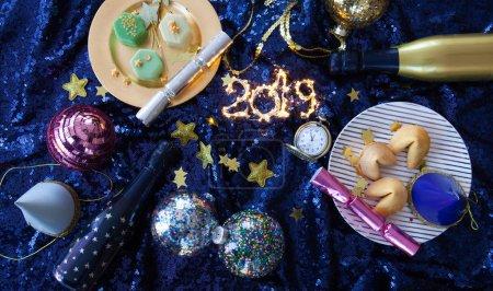 horizontale feier weihnachten dekorative festlich gluecklich