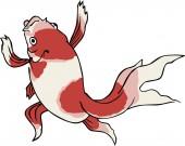Ukiyo-e Goldfish 2