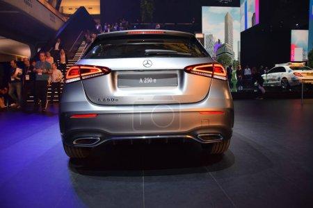 Frankfurt, Germany, September 10-2019: Mercedes A ...