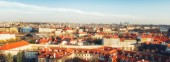 Prague, Czech Republic, 04 April 2018: Cityscape of old town in Prague, Czech Republic