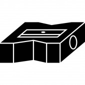 Pencil Sharpener Icon Vector
