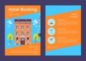 Hotel Booking and Whats Included in It Info Page