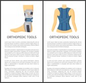 Orthopedic Tools for People Vector Illustration