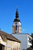 Trnava, Slovakia - September 09, 2018: the City Tower